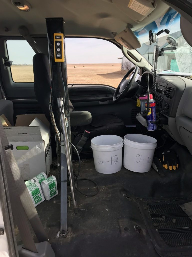In Cab Soil Sampler Pattison Liquid Systems