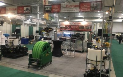 Demo Time at The Pattison Liquid Systems 2017 Crop Production booth